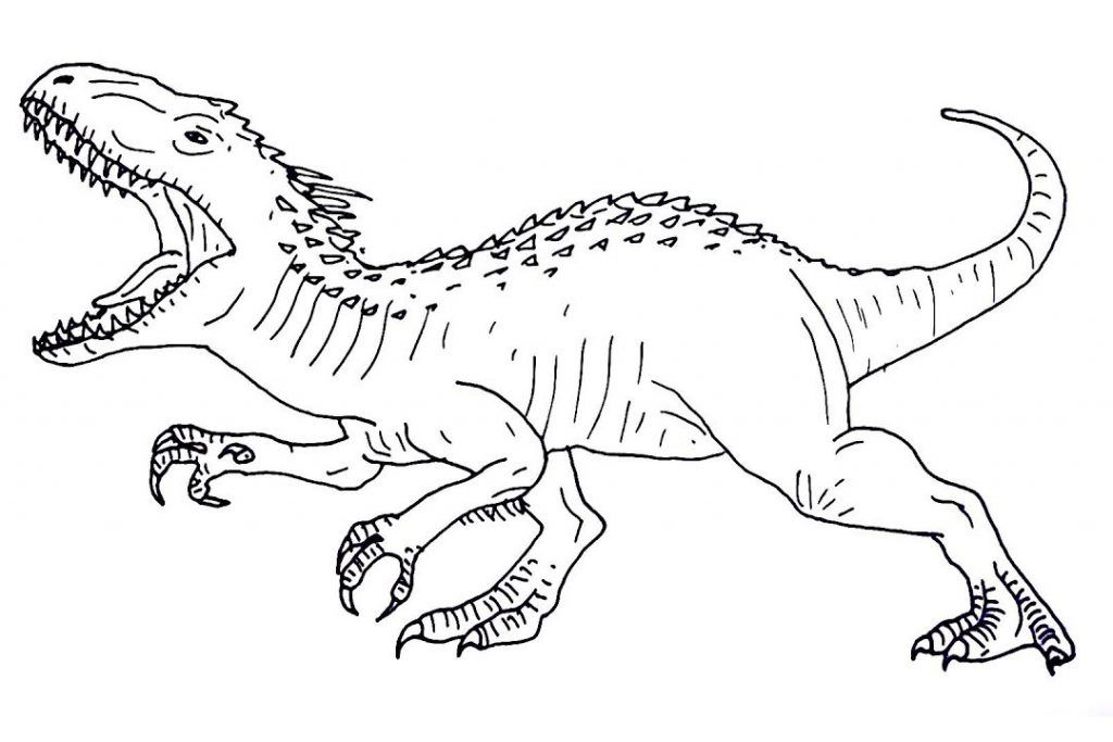 Jurassic World Coloring Pages | Dinosaur coloring pages ...