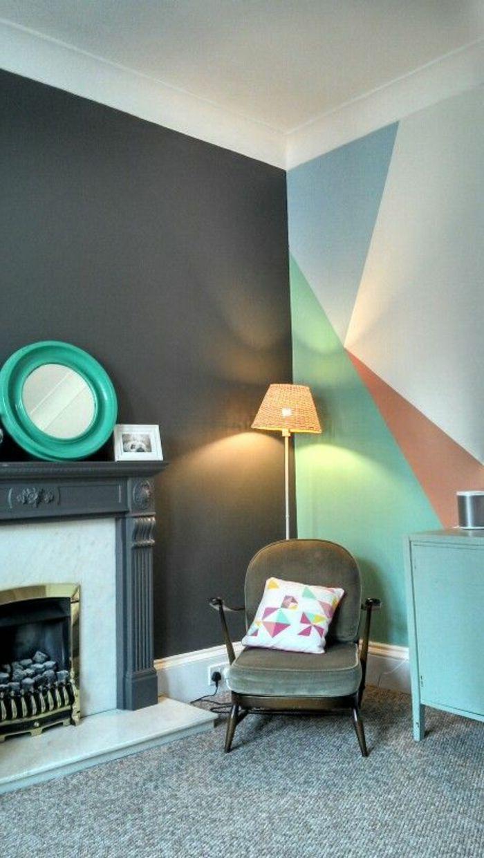 Qulle Peinture Acrylique Murale Choisir Pour Les Chambres Idées