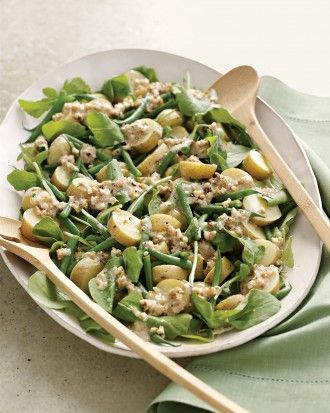 """See the """"Arugula, Potato, and Green Bean Salad with Creamy Walnut Dressing"""" in our  gallery"""