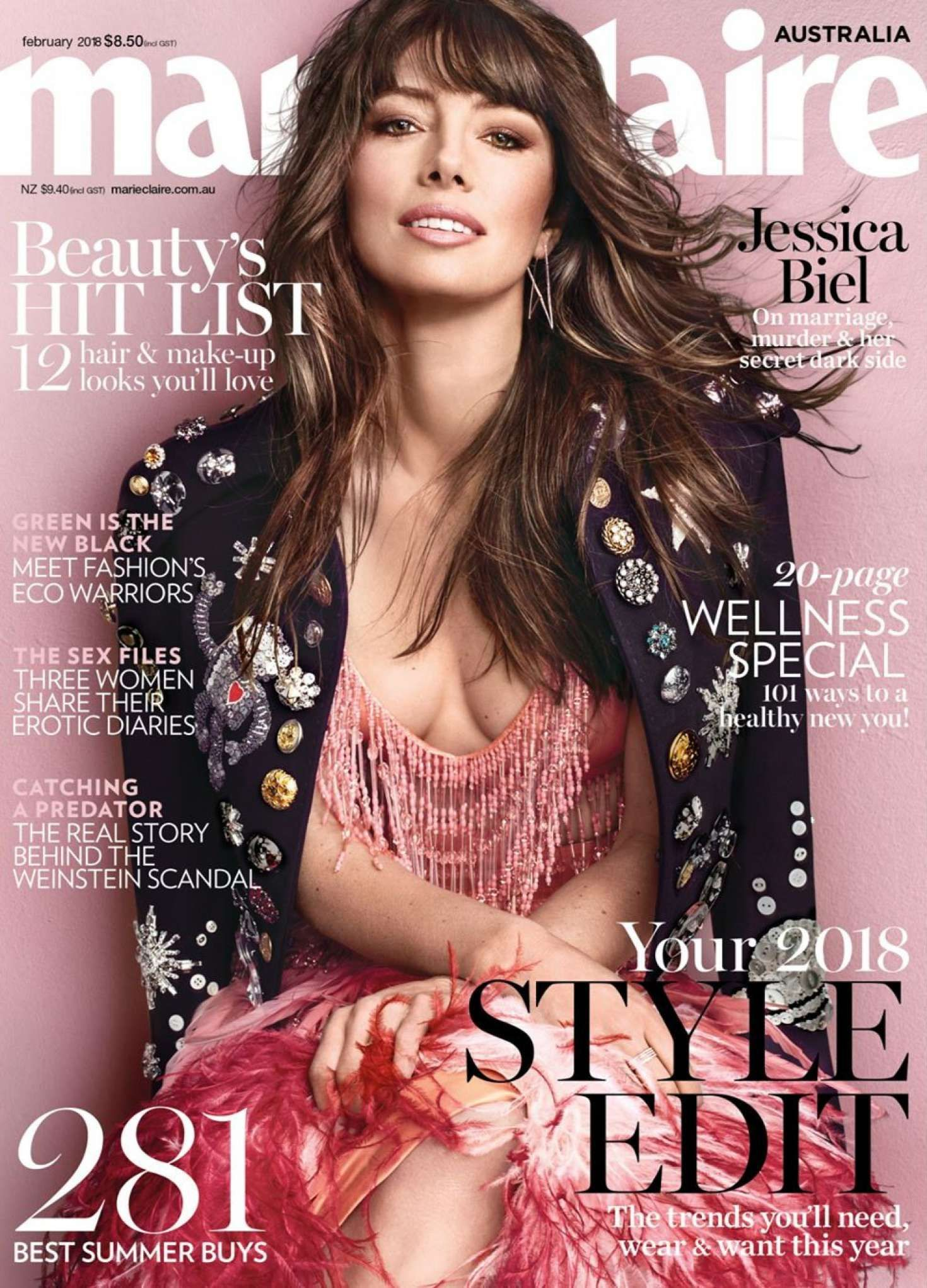 pics Hi Blake Meet Marie Claire's beautiful August issue cover star