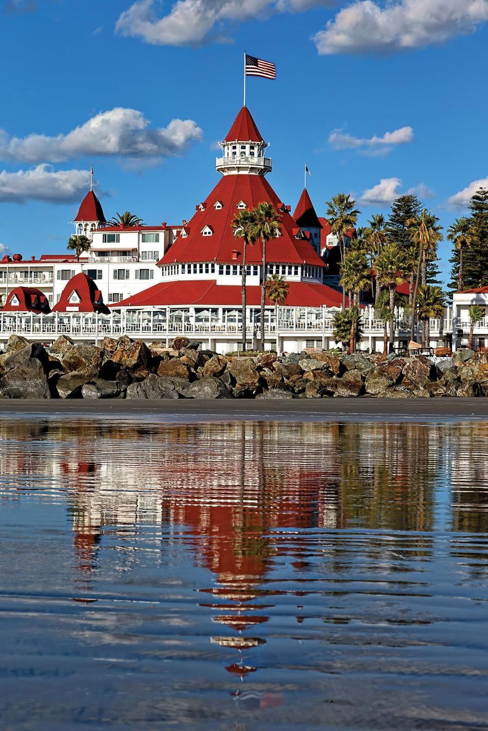 Del Coronado Hotel In San Diego. Spent Week