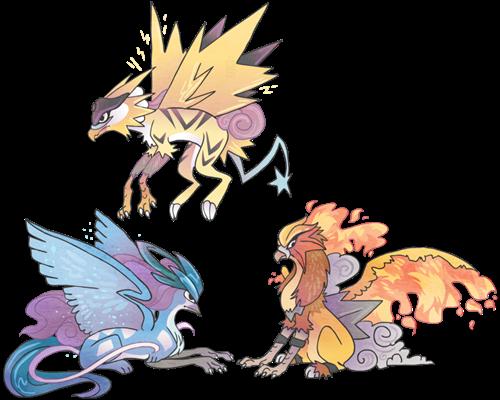 The Legendary Gryphons | ◑Pokémon◐ | Pinterest | Ave