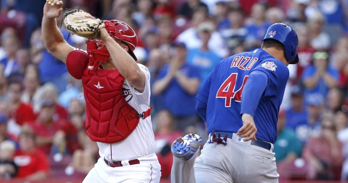 Reds fall to Cubs, 93 Cincinnati reds, Cubs, Mlb nationals