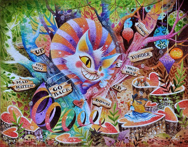 Alice in Wonderland by Frecklefaced29