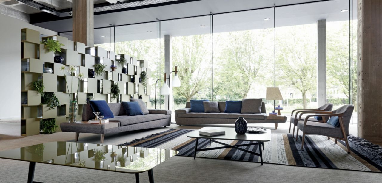 Illusion Large 4 Seat Element Roche Bobois Living Room Sets Furniture Contemporary Modern Sofas Lounge Armchair