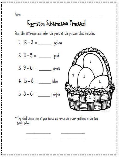 first grade easter worksheets | ... First Grade Second Grade Rd ...