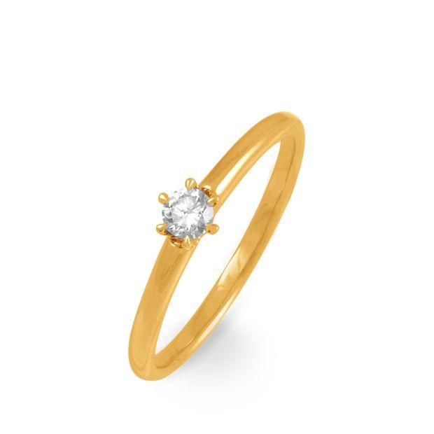 Achat boutique de sortie sortie en ligne Solitaire Or Jaune et Diamant Serti Griffes - Histoire d'Or ...