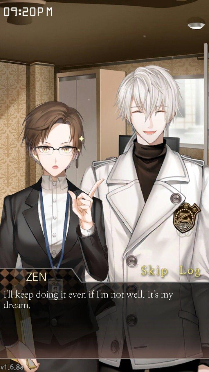 dating simulator mystic messenger)