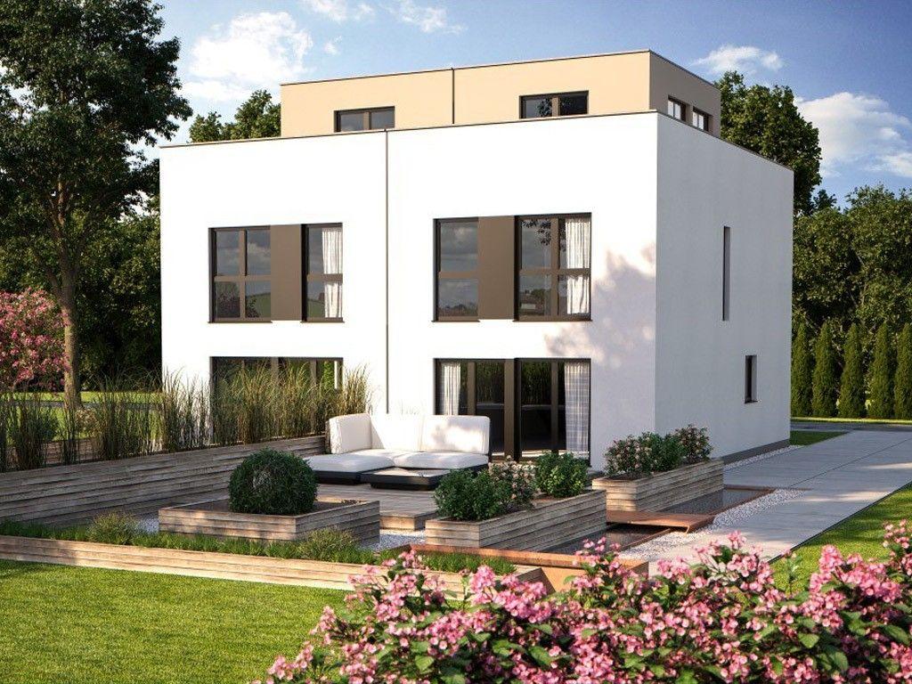 doppelhaus duo 160 in 2019 doppelhaus haus. Black Bedroom Furniture Sets. Home Design Ideas