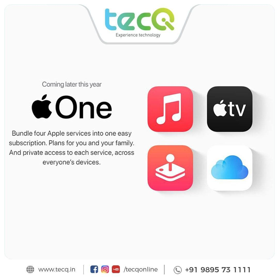 The post Bundle four Apple services into one easy subscription. Plans for you and your family. And private access to each service, across everyone's devices.#tecq #apple #appleproduct #applenew #tecqapple #tecqgadgets #staytuned appeared first on TecQ.