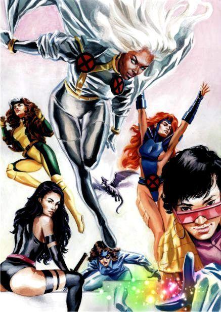 X Men Girl Characters Gallery X Men F...