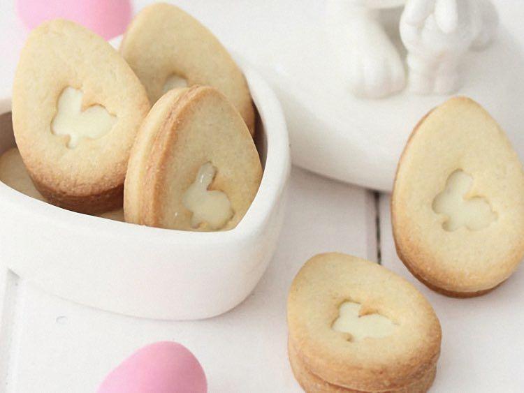 Tutoriel Diy Faire Des Biscuits De Paques Fourres Au Chocolat Blanc