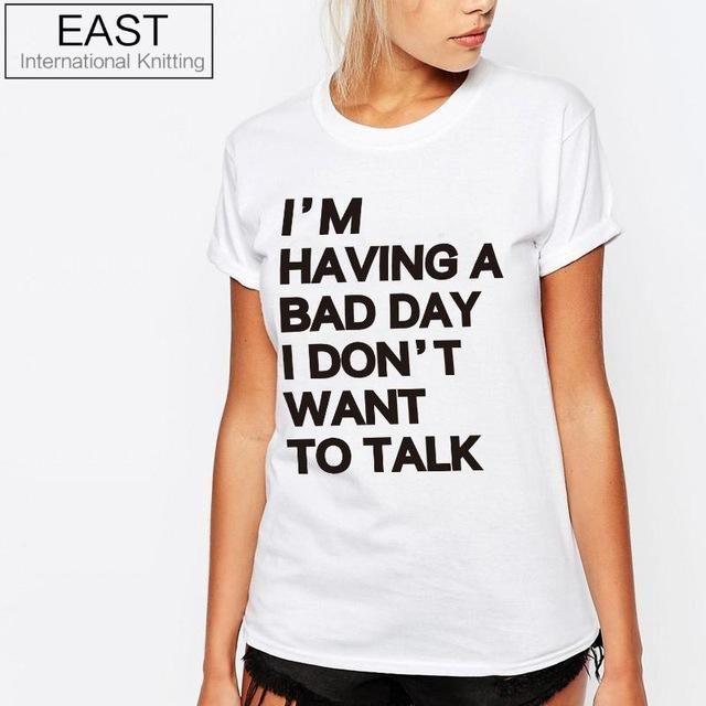 a21d9b70c05 Women Letters T Shirt Short Sleeve Casual Funny Tshirt With Plus Size  Vetement Femme  shirt  tshirts  shirts  classic  custom  girl  nightly   funny  tshirt ...