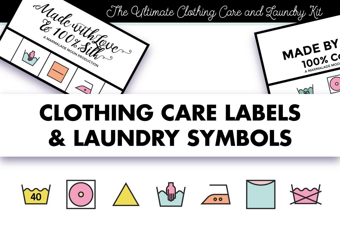 28 Clothing Care Label Template in 2020
