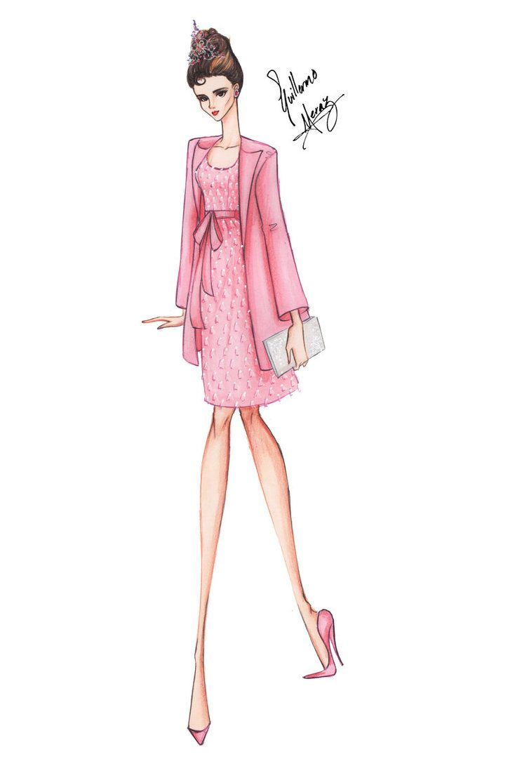 Audrey Hepburn in Breakfast at Tiffany\'s - Pink by frozen-winter ...