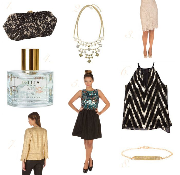 layla grace new years fashion~ Loving the Black top & pencil skirt- both great as separates to have in my closet!!