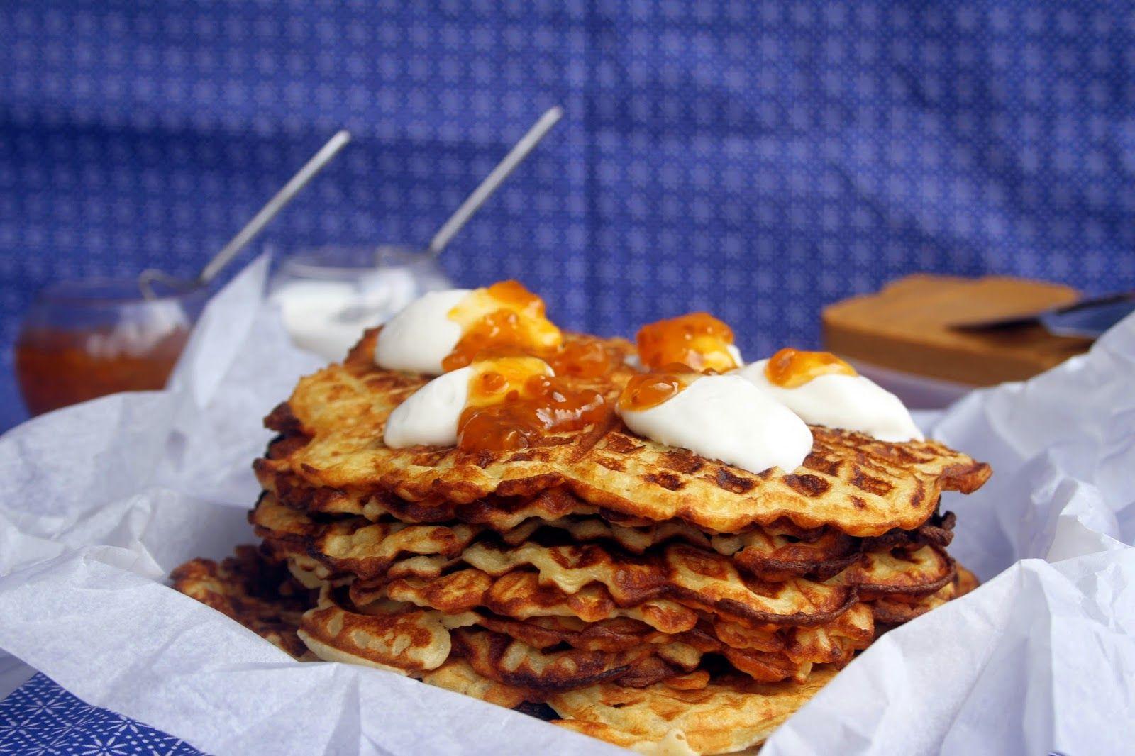 Amapola, el mundo en un plato: Gofres noruegos, norwegian wafels