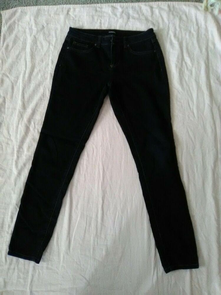 NWT Womens D Jeans sz 12 High Waist Cargo Ankle
