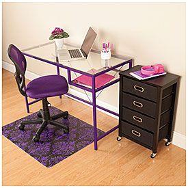 Purple Office Furniture Set Office Furniture Set Furniture Office Space Inspiration