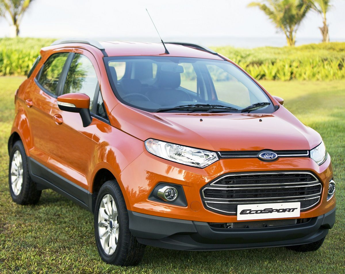 Ford Ecosport To Get 2015 Tweaks Ford Ecosport Suv Ford