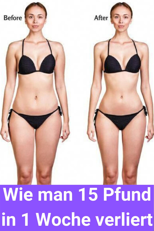 Diäten zum Abnehmen 15 Kilo in 2 Monaten