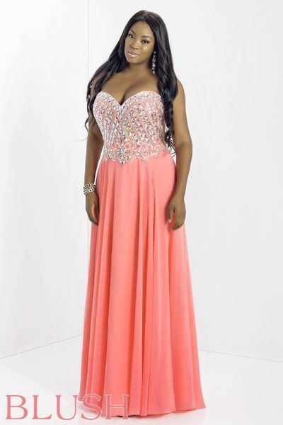 Plus Size Fashion 10 Plus Size Prom Dresses That I Would Wear If I