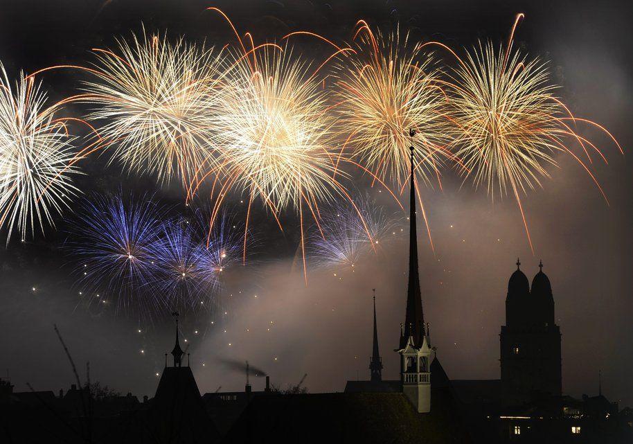 Fireworks Feuerwerk, Zürich