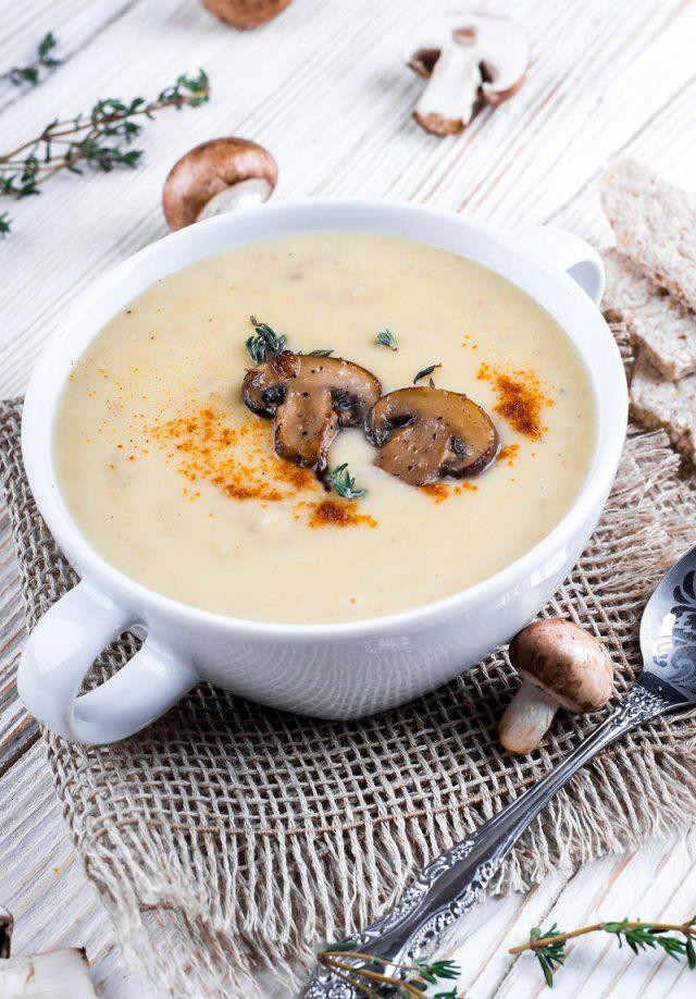 Velouté de champignons au curry | Velouté champignon, Recettes de cuisine, Recettes de boissons