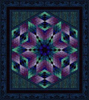 Florentine Kit Amp Free Pattern Crazy Quilts Star Quilt