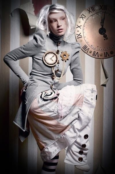 Awesome steampunk outfit