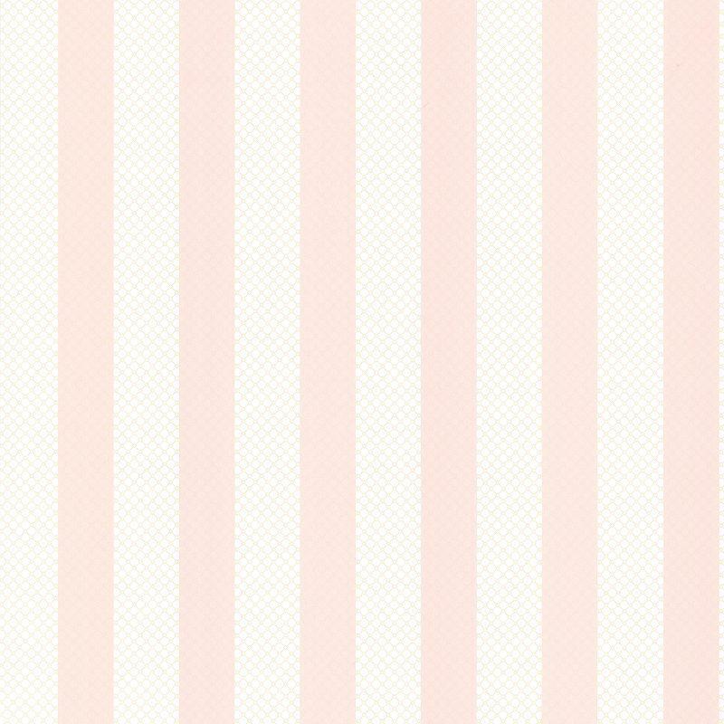 Brewster Ditsy Pink Trellis Stripe Wallpaper - 2704-23208