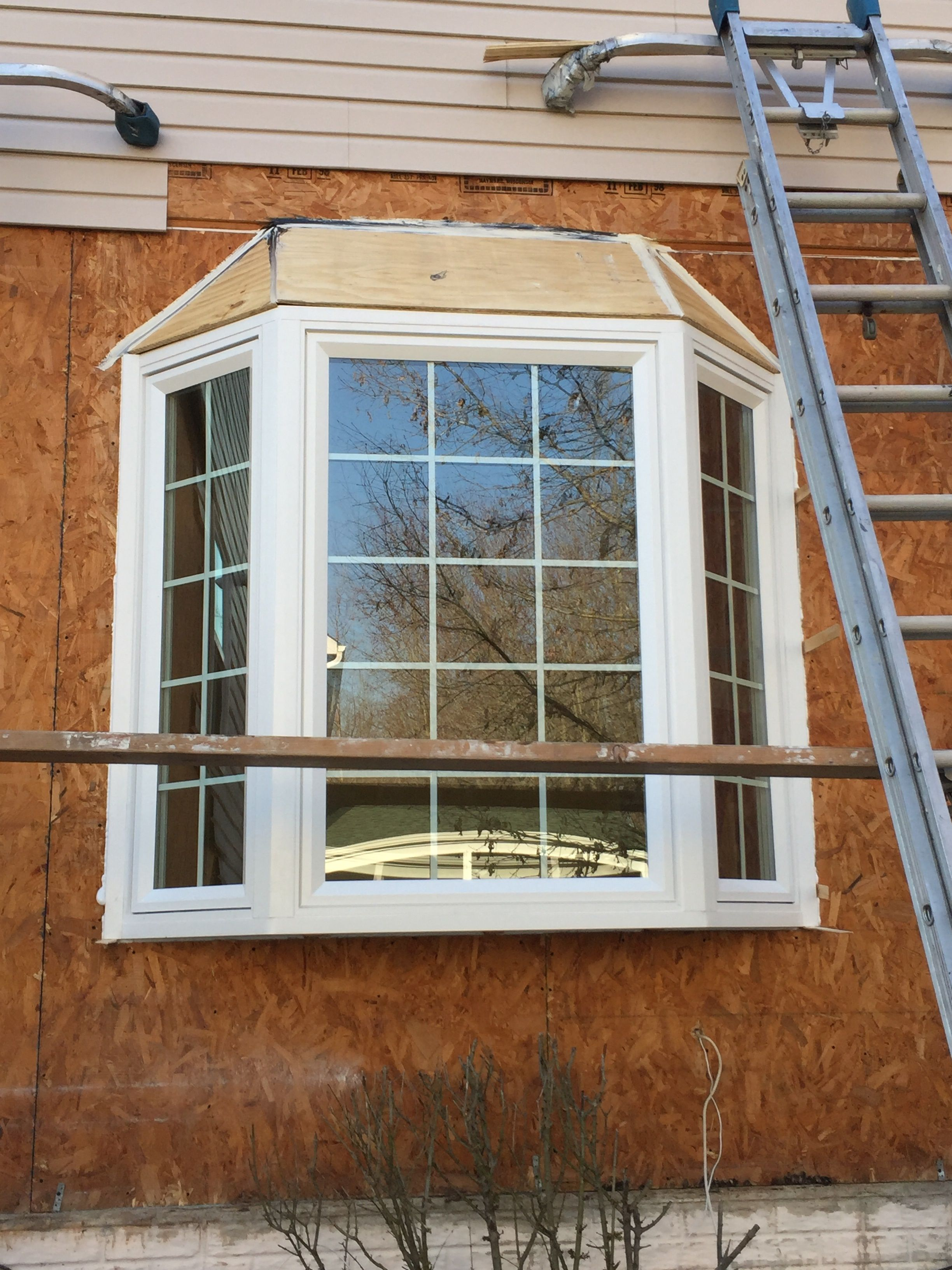 Take a look at some images from a recent job we completed for Energy efficient bay windows
