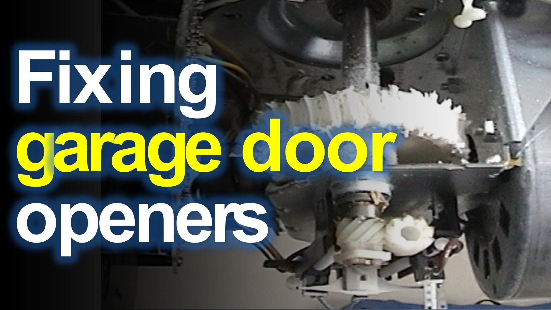 Craftsman Liftmaster Garage Door Opener Won T Open Or Close