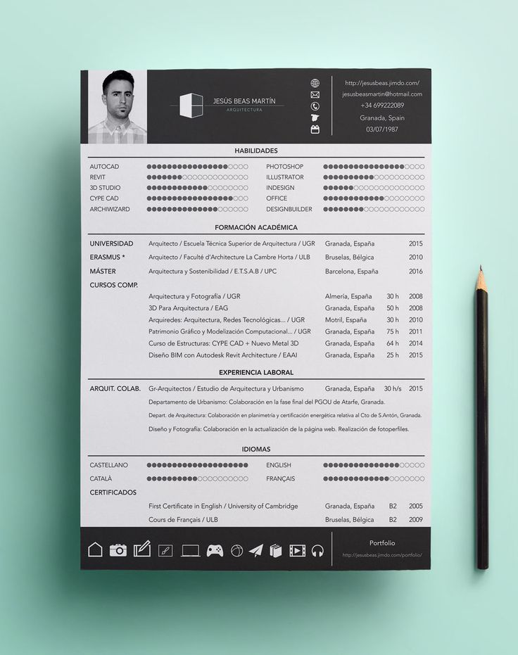 Modern Resume Template Professional Resume Template