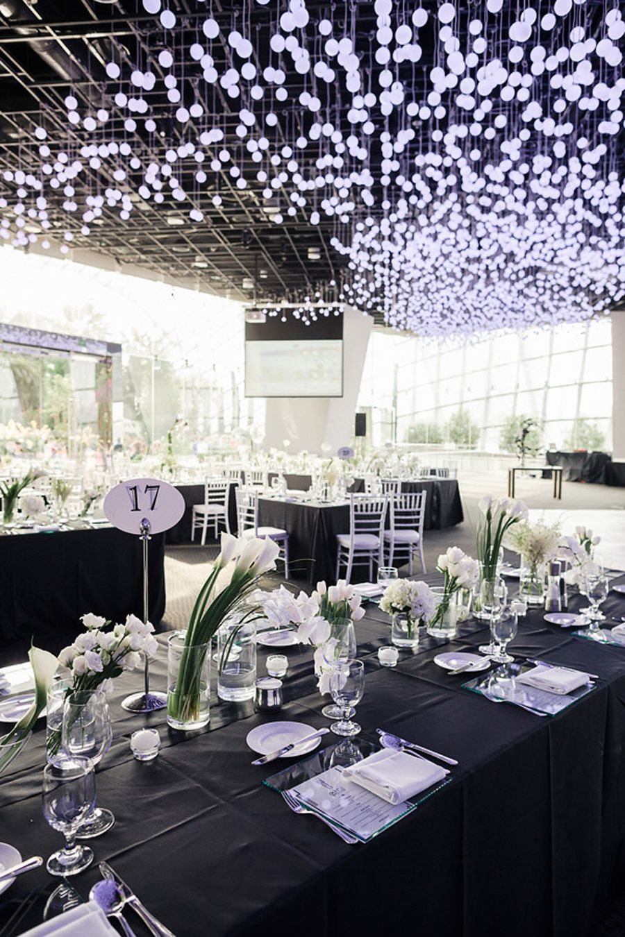 terry and guozis architecture inspired wedding at flower field hall - Garden By The Bay Flower Field Hall
