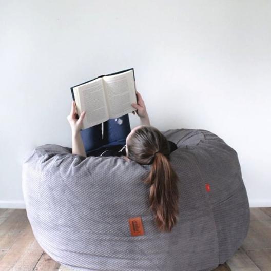 This Bean Bag Chair From Shark Tank Converts Into A Bed Bean Bag