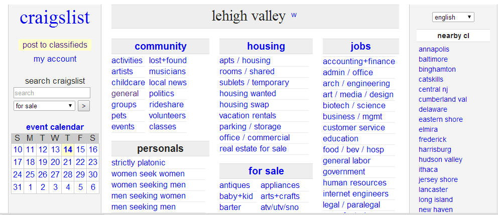 Why Craigslist is Losing Favor With Many Classified