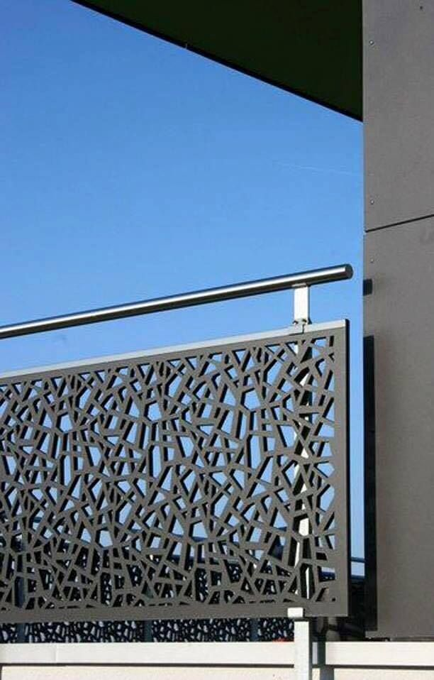 Discover All The Information About The Product HPL Railing / With Panels /  Outdoor / For Balconies VIKTORIASTRASSE   Bruag And Find Where You Can Buy  It.
