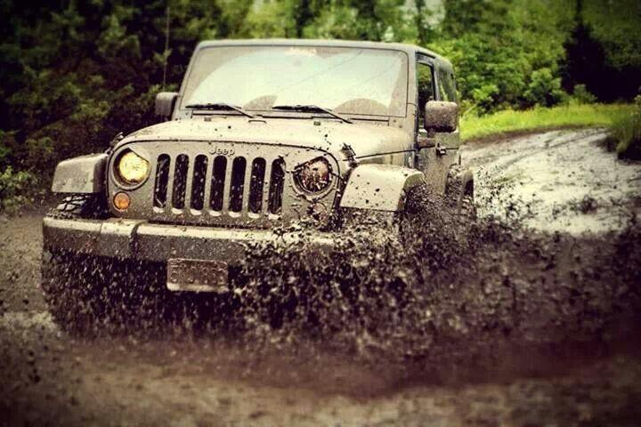 mud splattered, not stirred.
