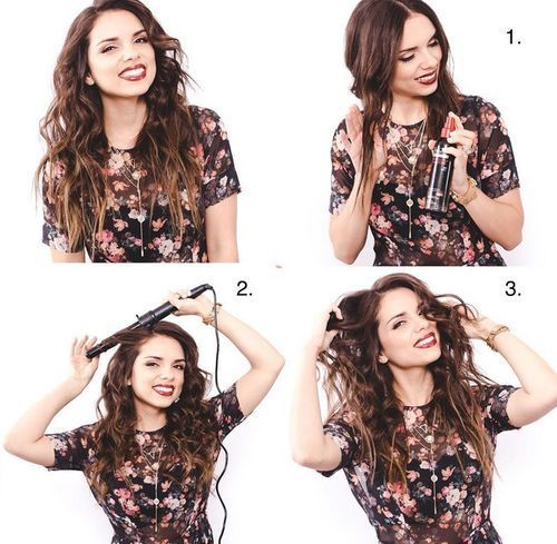 25 Ways Of How To Make Your Hair Wavy Wavy Hair Straight Hairstyles Curly Hair Styles Naturally