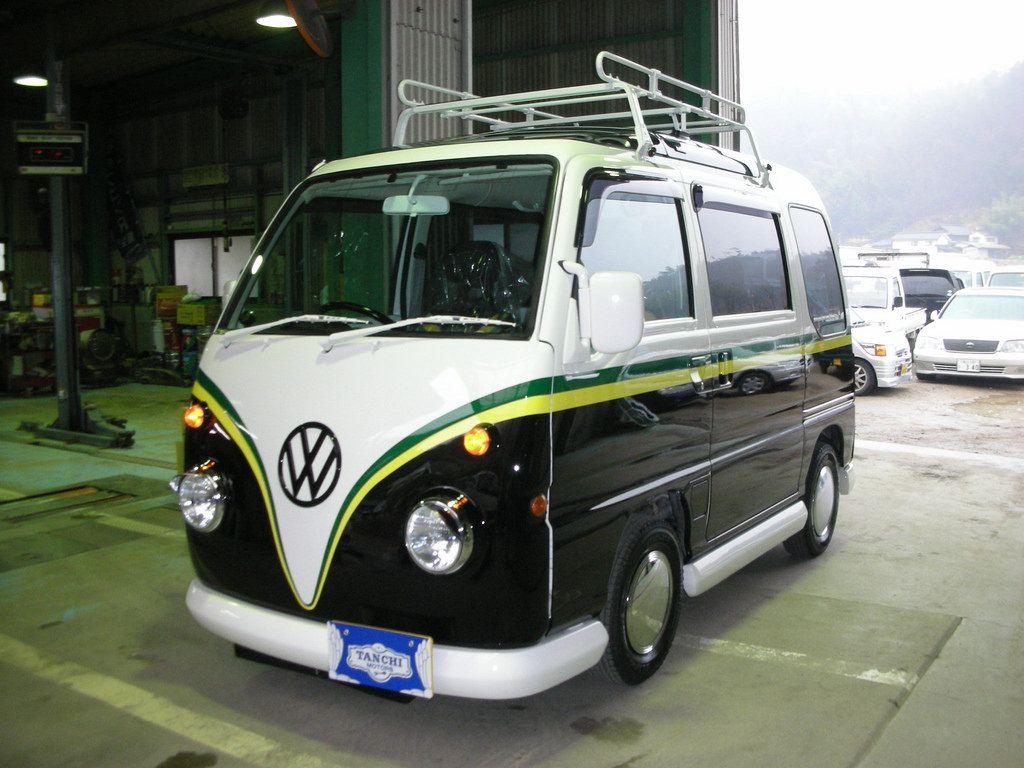 Subaru Sambar Vw Bus T1 Subaru Kei Car Car Camper