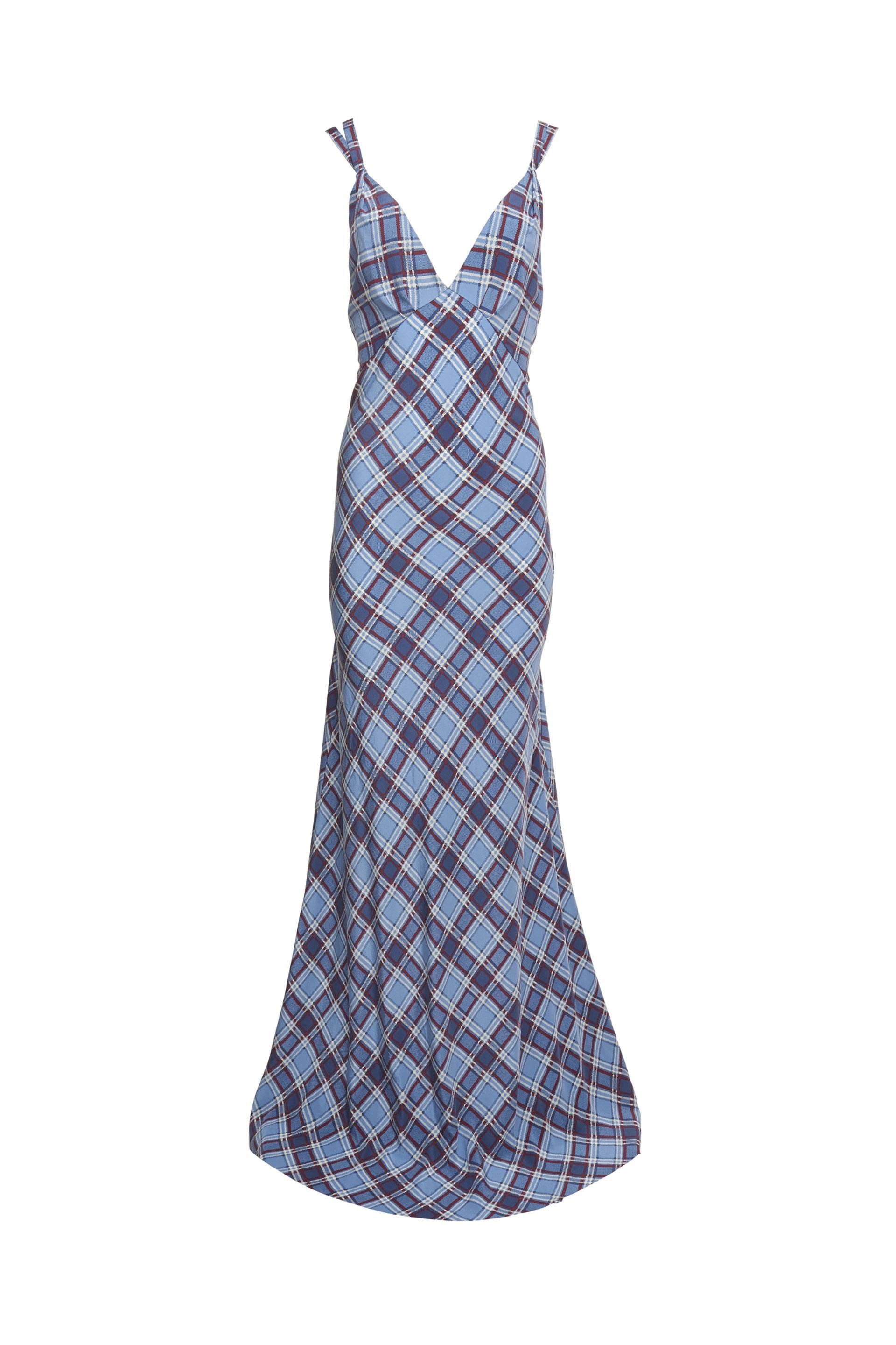 sleeveless checked dress - Blue Marc Jacobs For Sale 2018 NDzLEzr0F