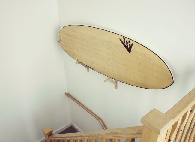 How To Make A Diy Surfboard Wall Mount For Less Than 10
