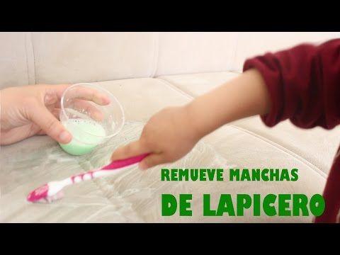 Cómo Remover Manchas De Tinta De Lapicero Fácilmente Manualidadestv Manualidadesconninos Youtub Quitar Manchas De Tinta Manchas De Tinta Sillones De Piel