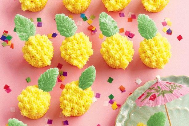 Mini cupcake pineapples main image
