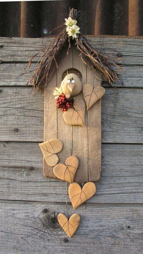 We Nest Now Ton Basteln Fruhling Ostern Bastelarbeiten Basteln Mit Naturmaterialien Herbst