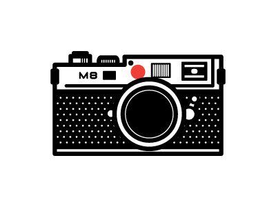 Leica Camera Illustration Vintage Graphic Design Leica