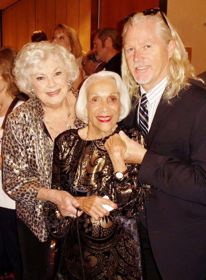 Barbara Hale, Monica Lewis, William Katt 2012   Perry