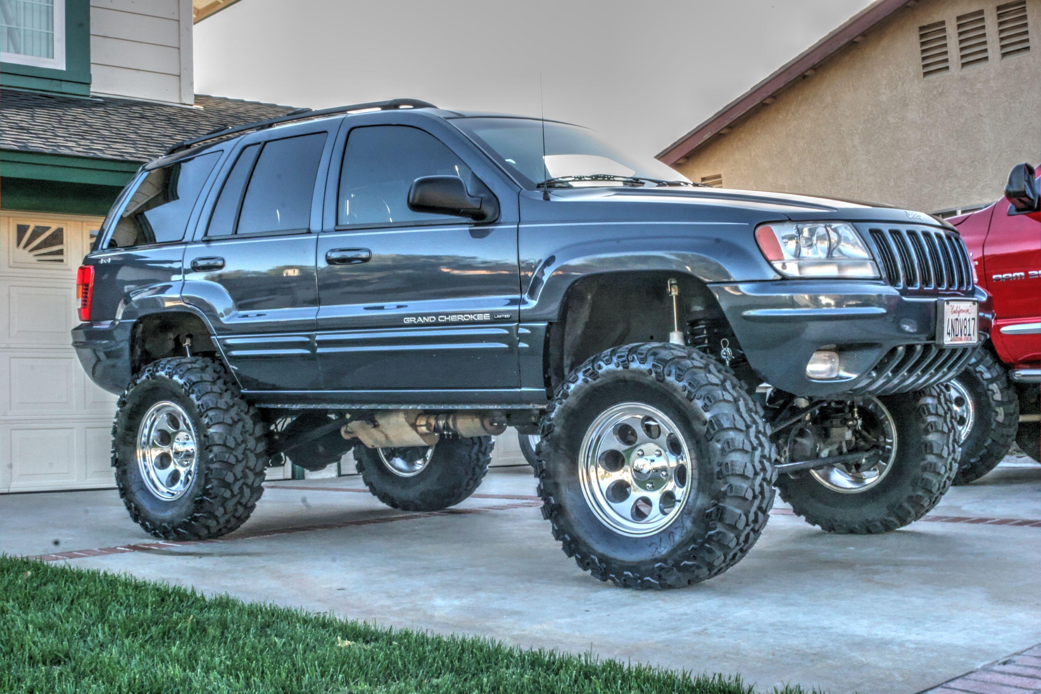 2000 Jeep Grand Cherokee Wj Rockkrawler 6 5 Lift 2 Front