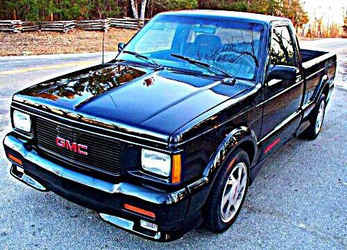 1991 Gmc Syclone Classic Pickup Trucks Gmc Trucks Chevy S10
